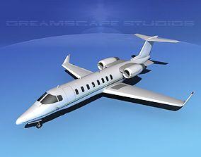 3D model LearJet 45 V09