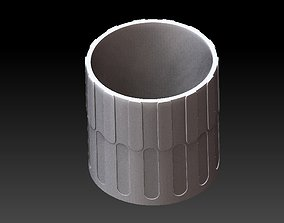 Extended pot 25 3D printable model
