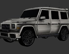 Brabus G500 Mercedes Benz 3D Model Luxury SUV