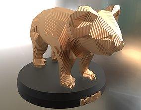 3D model Parametric Koala