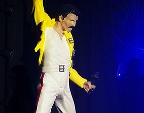 Freddie Mercury 3D printable model