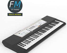 3D model PBR Electronic piano keyboard