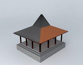 3D Joglo Kaponan