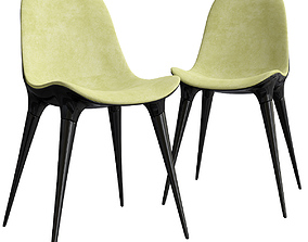 3D caprice passion chairs philippe starck cassina
