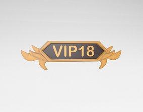 3D model Game VIP Symbol v4 004