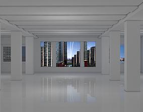 Sci Fi Room exterior 3D asset realtime