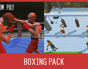 Boxing pack 3D model