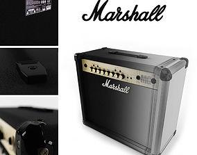 3D model Marshall MG30FX amplifier