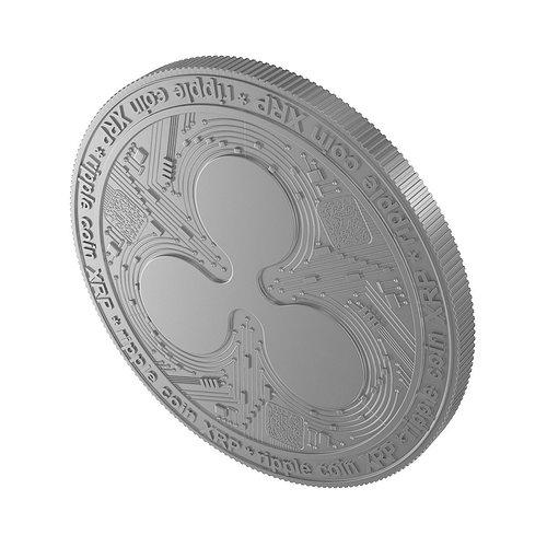 ripple-coin-3d-model-max-obj-3ds-fbx-c4d