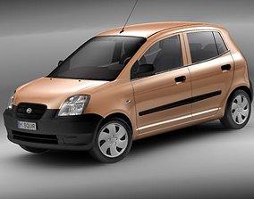 Kia Picanto 2004-2008 3D model