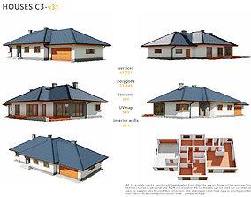 House C3V31 3D model animated