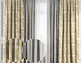 3D Curtain Set 125