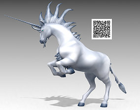 3D asset realtime Unicorn Animated