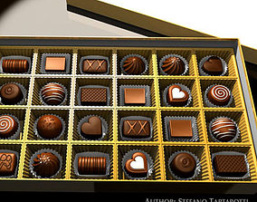 Chocolates collection 3D