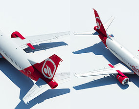 interior 737 Air berlin 3D model