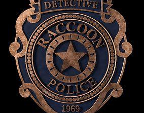 3D print model Raccoon City Police Badge