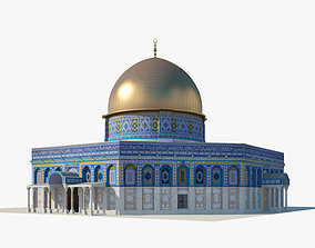 Dome of the Rock rock 3D model