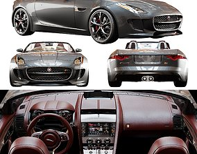Jaguar F TYPE With HQ Interior 3D