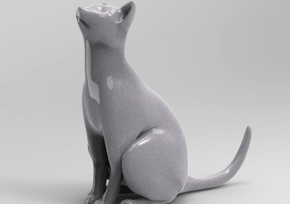 The Cat (3D PRINTING)