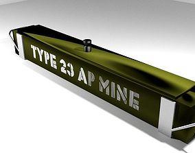 Landmine Full Width Mine 3D model