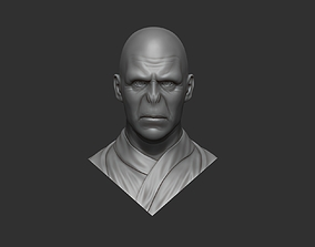 Lord Voldemort bust 3D print model