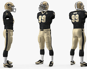 New Orleans Saints Player Uniform 3D