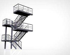 pitch 3D metal Ladder
