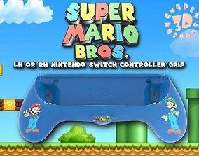 3D printable model Ergonomic Super Mario Bros Joy Con 2