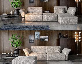 3D Bonaldo Cortina sofa