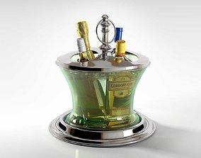 Berkeley Wine Cooler 3D model