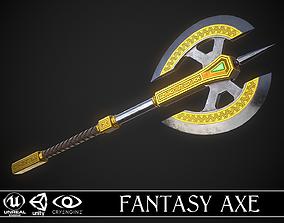 3D model Fantasy Axe 04D