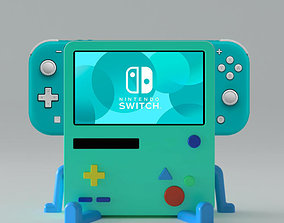 BMO Stand for Nintendo Switch Lite 3D print model