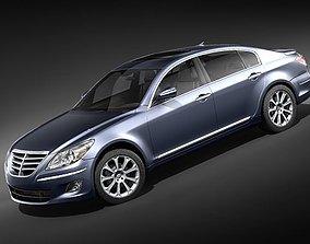 3D Hyundai Genesis Sedan