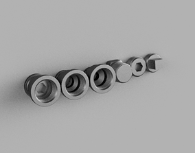 Steampunk Reducer and Plug 3-4 inch 3D printable model