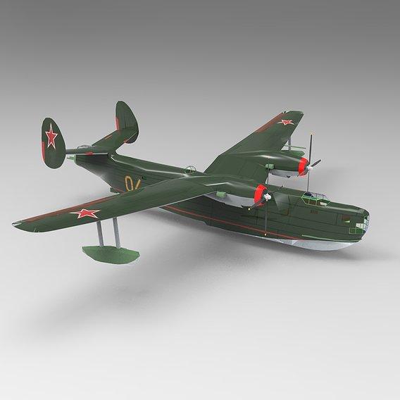 B6MG Madge Russian Hydroplane