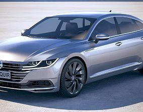 3D model Volkswagen Arteon 2018