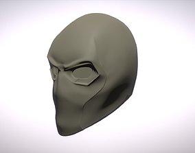 3D printable model Red Hood helmet variant Deathstroke 2