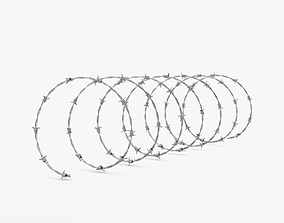 3D Barbed Wire