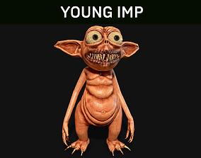 3D asset Young Imp