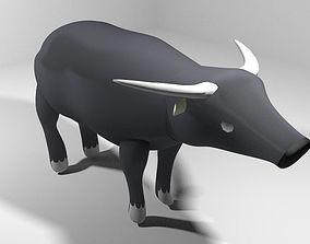 3D Buffalo - Asia