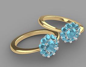 3D print model 3D model Fashion ring