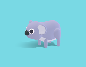 Kola the Koala - Quirky Series 3D model