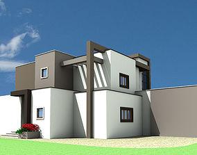 3d model Arabian Villa
