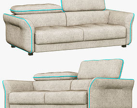 3D model Hasta Sacramento sofa