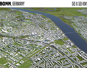 Bonn Germany 3D model