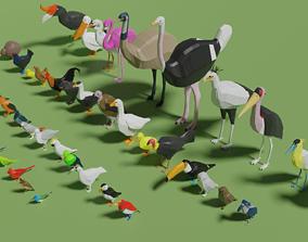 3D model Birds Pack