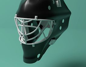 Hockey Goalie Mask 3D model