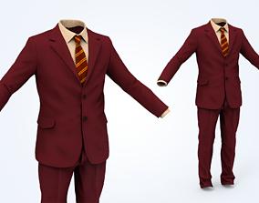 3D asset Business Suit Man