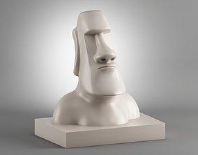 traditional Moai 3d Print Model