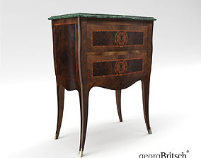 Baroque commode - Napoli 1760 - Italy - Georg 3D model